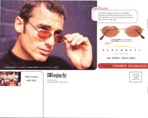Sunglass Hut A Whole New Outlook Back Cover