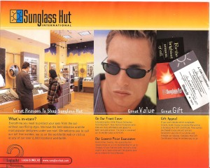 Sunglass Hut A Whole New Outlook Catalog Page 2