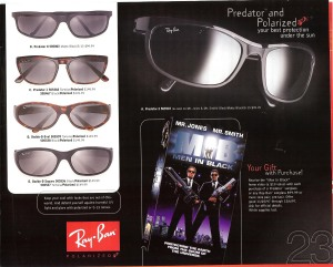 Sunglass Hut A Whole New Outlook Catalog Page 23