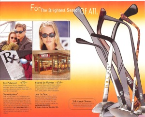 Sunglass Hut A Whole New Outlook Catalog Page 3