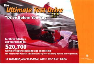 Ultimate Test Drive Campaign